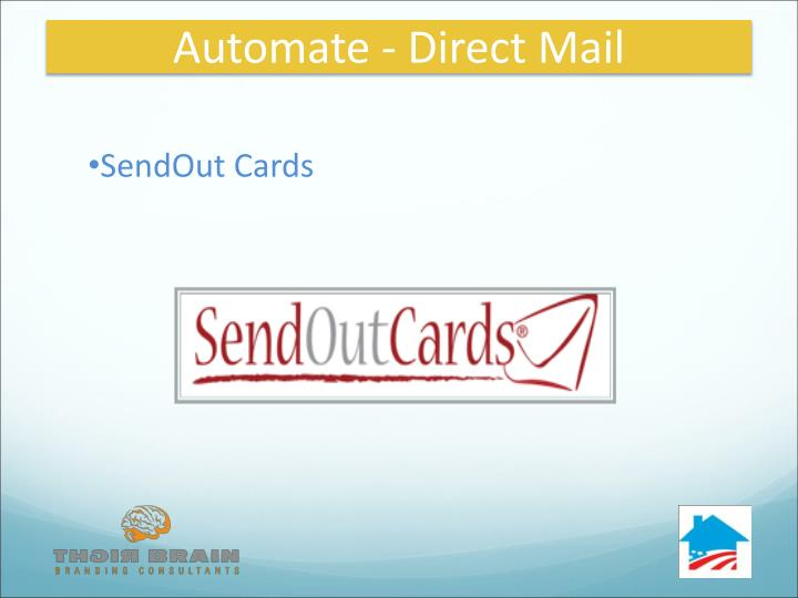 Automate - Direct Mail