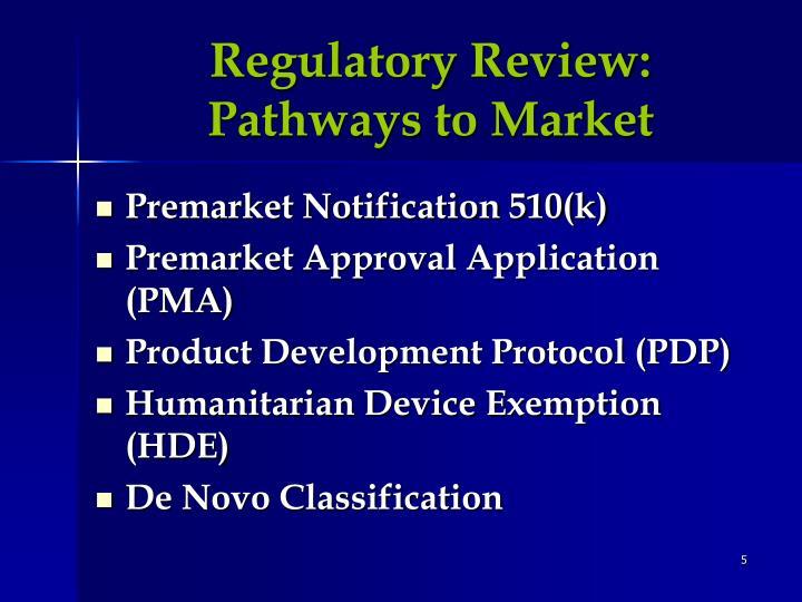 Regulatory Review: