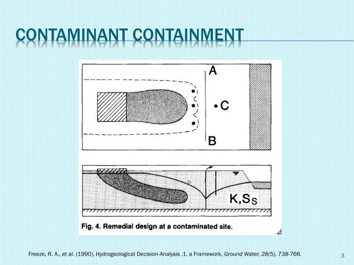 Contaminant containment