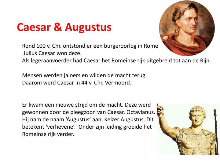 Caesar & Augustus