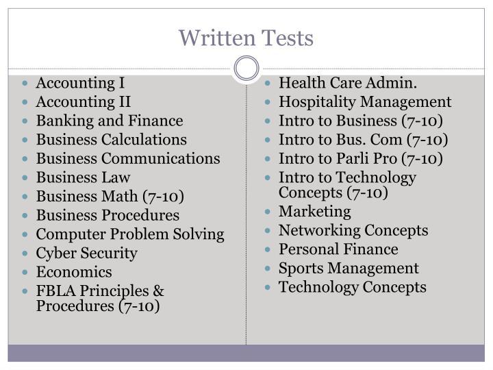 fbla practice tests computer problem solving