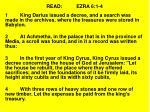 read ezra 6 1 4