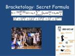 bracketology secret formula
