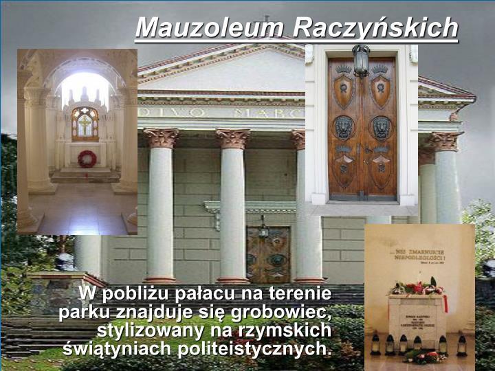 Mauzoleum Raczyńskich