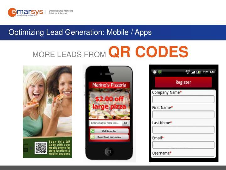 Optimizing Lead Generation: