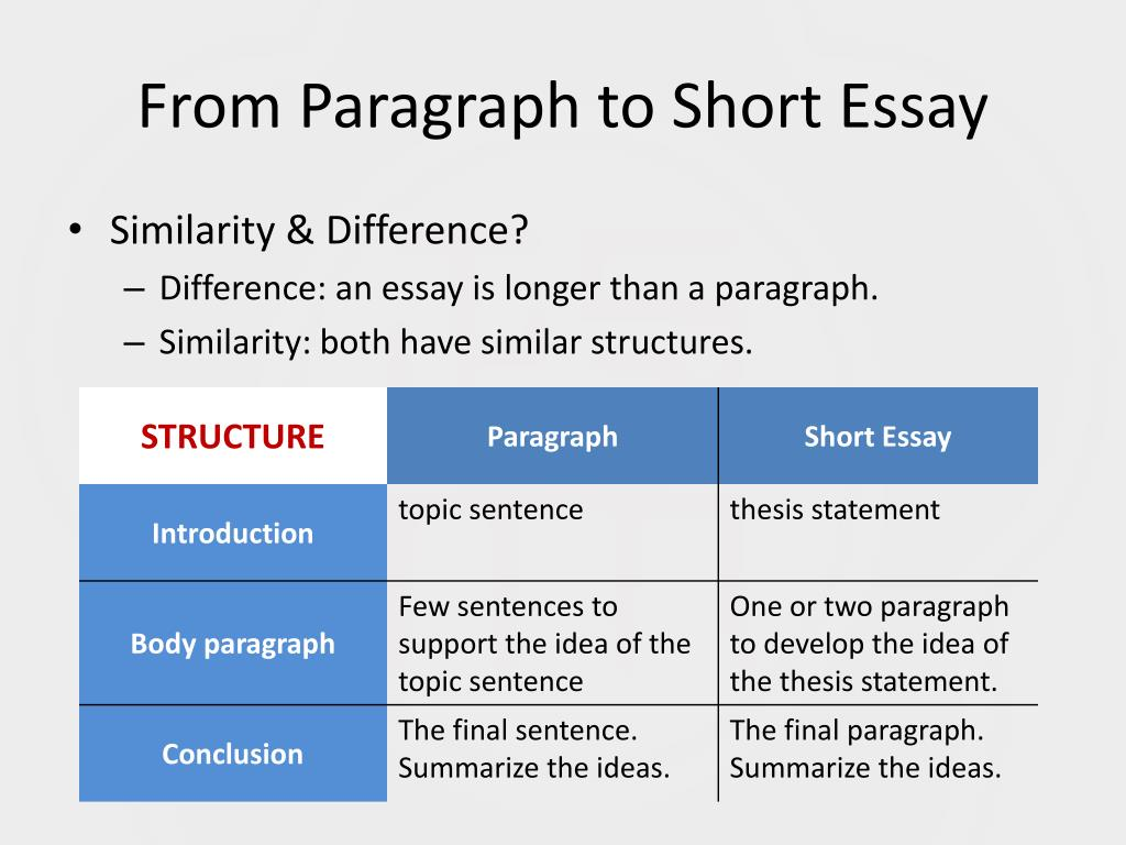 Paragraph Format helps students write better essays. | blogger.com