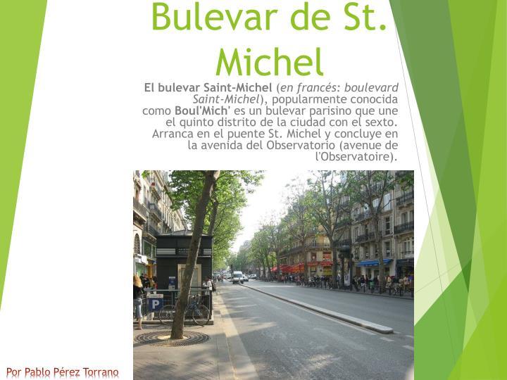 Bulevar de St. Michel