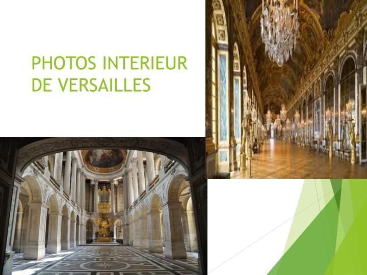 PHOTOS INTERIEUR
