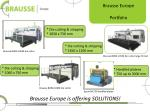brausse europe is offering solutions