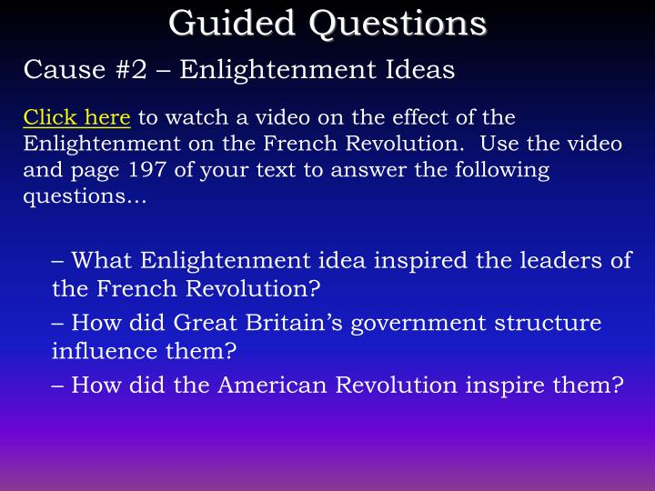 Ppt the french revolution powerpoint presentation id5016273 cause 2 enlightenment ideas toneelgroepblik Images