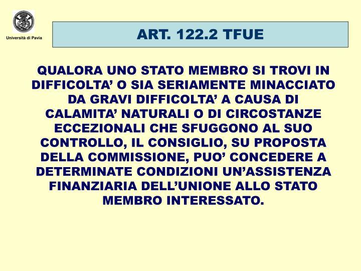 ART. 122.2 TFUE