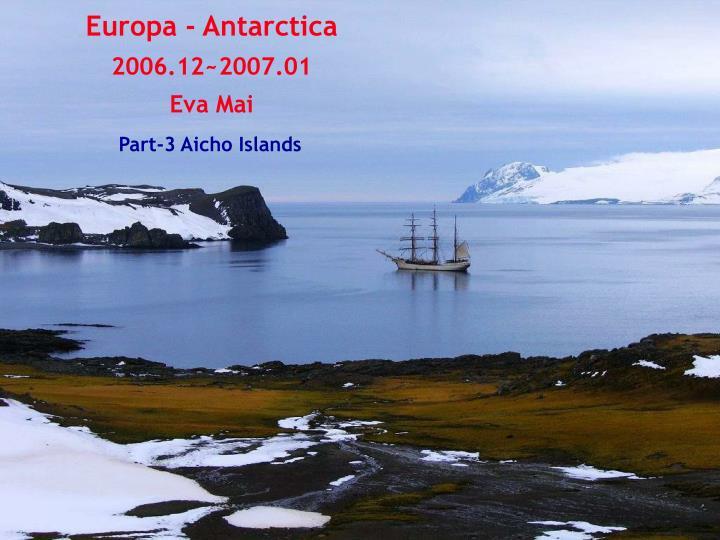 Europa - Antarctica
