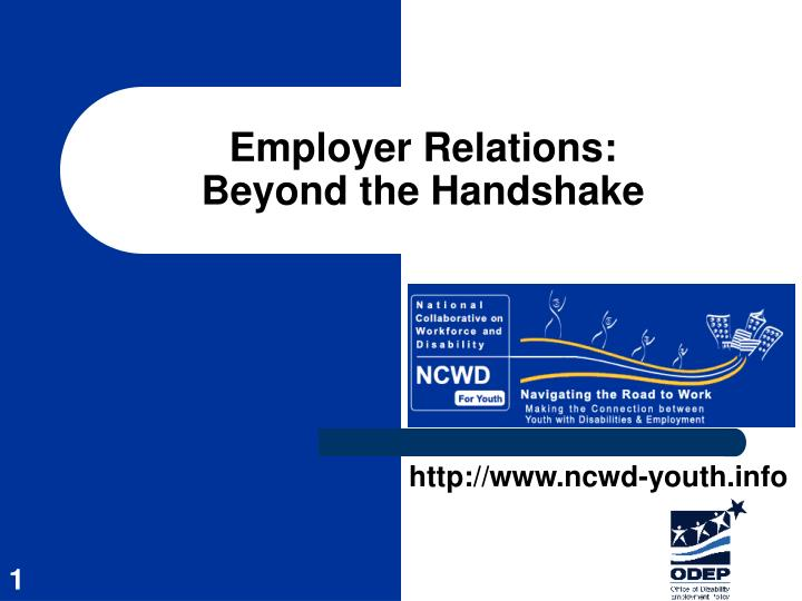Employer Relations:
