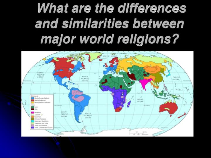differences between religions in various countries Similarities and differences between japan and  religion, some custom between these two countries is  in contrast, the various ethnic minority groups in.