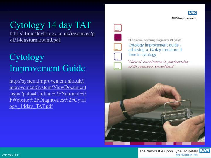 Cytology Improvement Guide