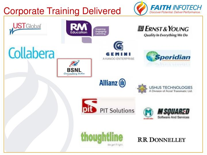 Corporate Training Delivered