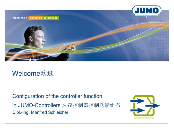 configuration of the controller function in jumo controllers dipl ing manfred schleicher n.