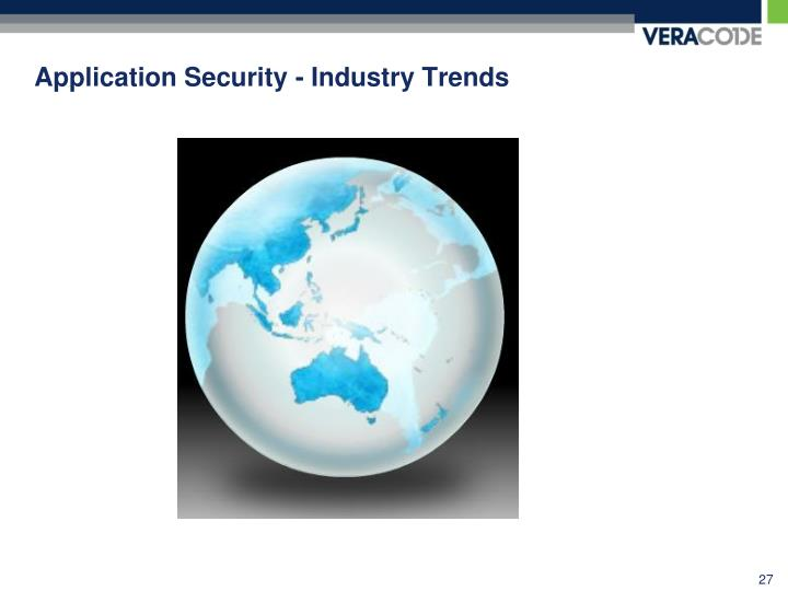 Application Security - Industry Trends