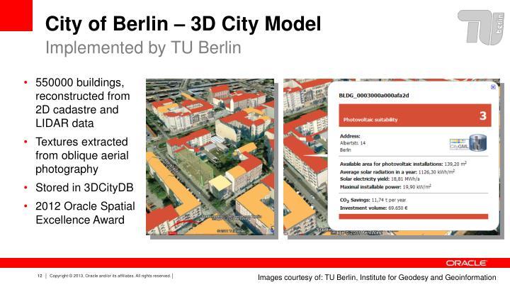 City of Berlin – 3D City Model