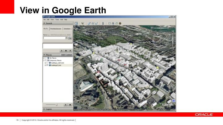 View in Google Earth