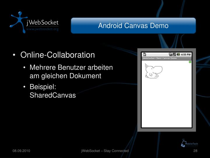 Android Canvas Demo