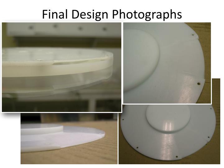 Final Design Photographs