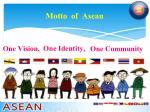 motto of asean