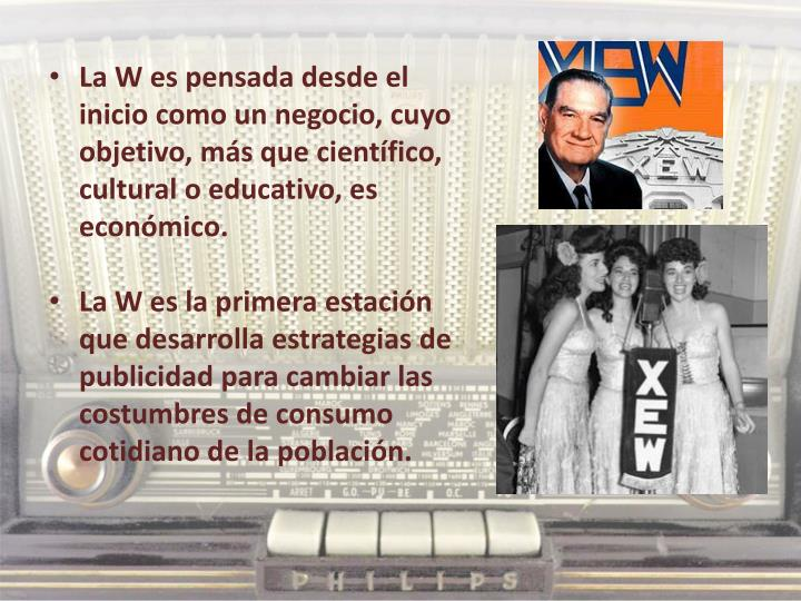 La W es