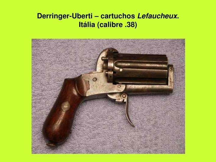 Derringer-Uberti – cartuchos