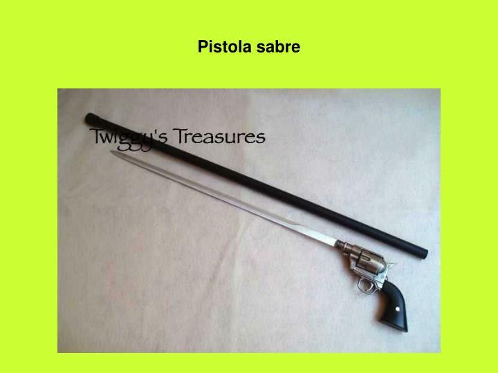 Pistola sabre