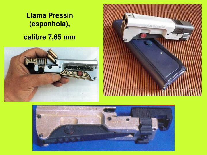 Llama Pressin (espanhola),