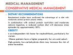 medical management conservative medical management1