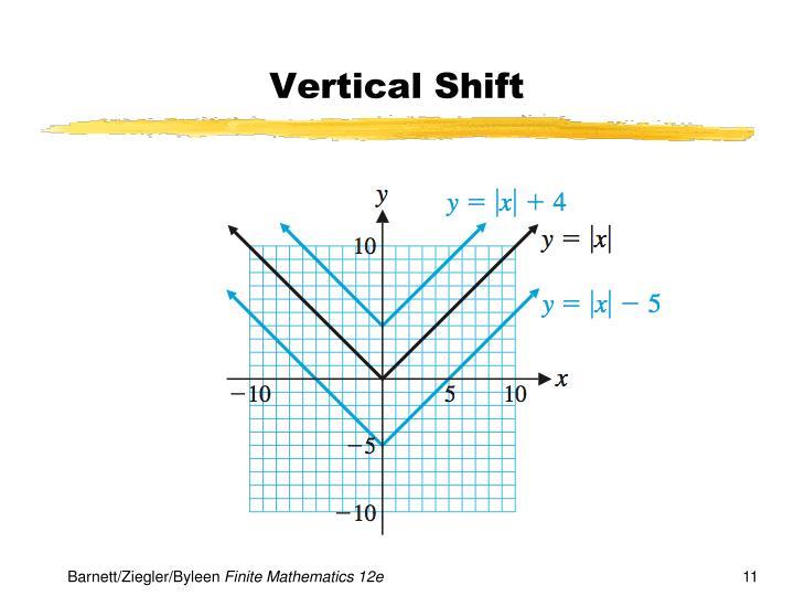 Vertical Shift