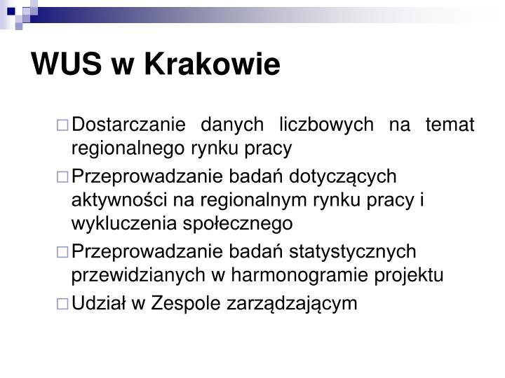WUS w Krakowie