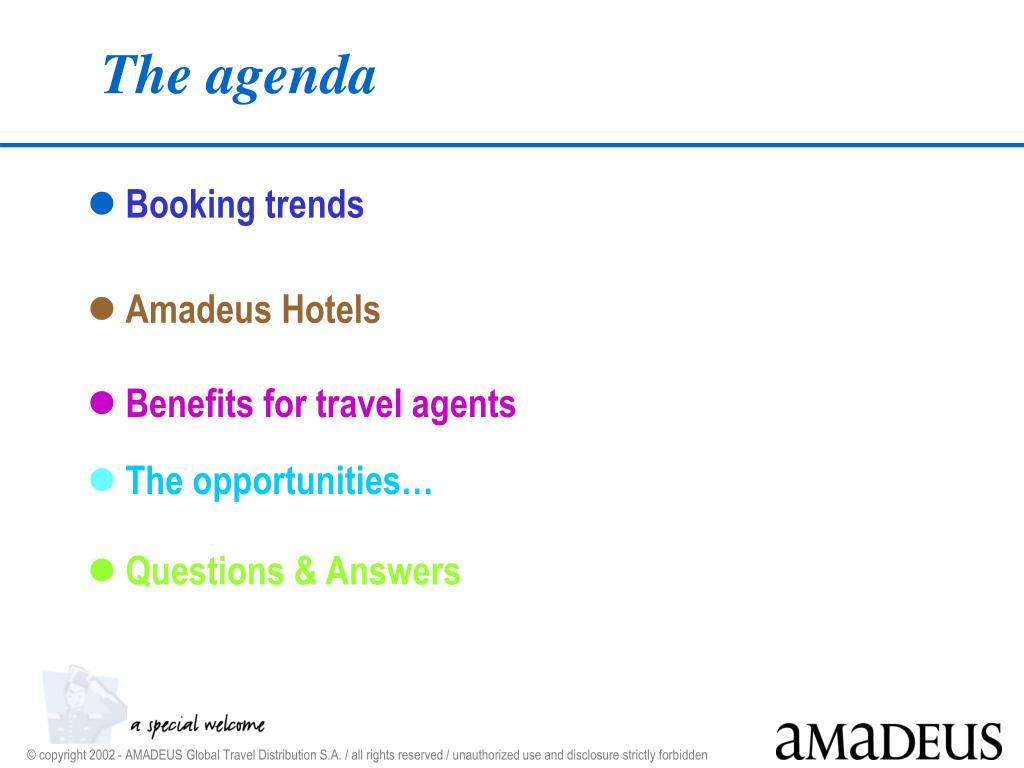 PPT - Amadeus Hotels Sales & Marketing Seminar PowerPoint