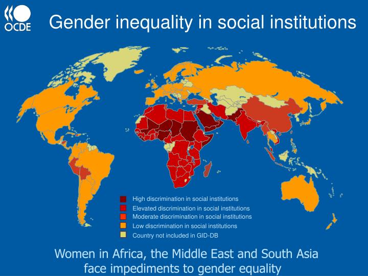 women and the gender inequality in society