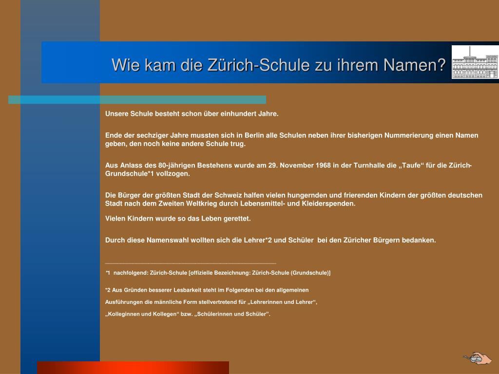 Ppt Zürich Schule 23 Grundschule Berlin Neukölln