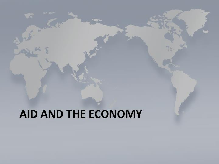 Aid and the Economy