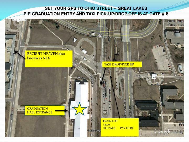 SET YOUR GPS TO OHIO STREET – GREAT LAKES