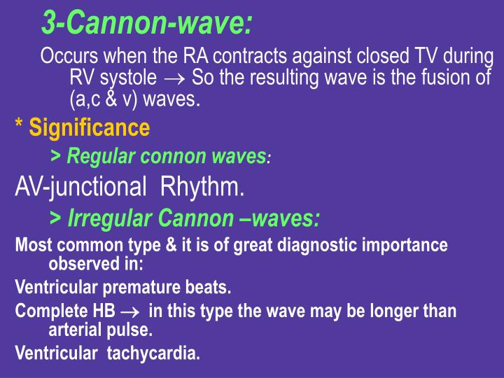 3-Cannon-wave: