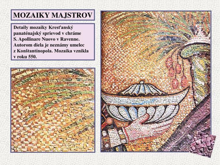 MOZAIKY MAJSTROV