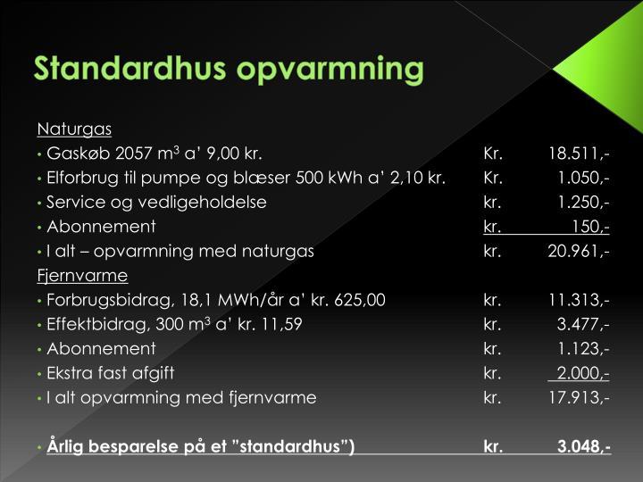Standardhus