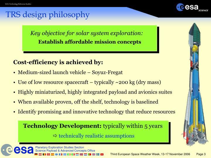 Trs design philosophy