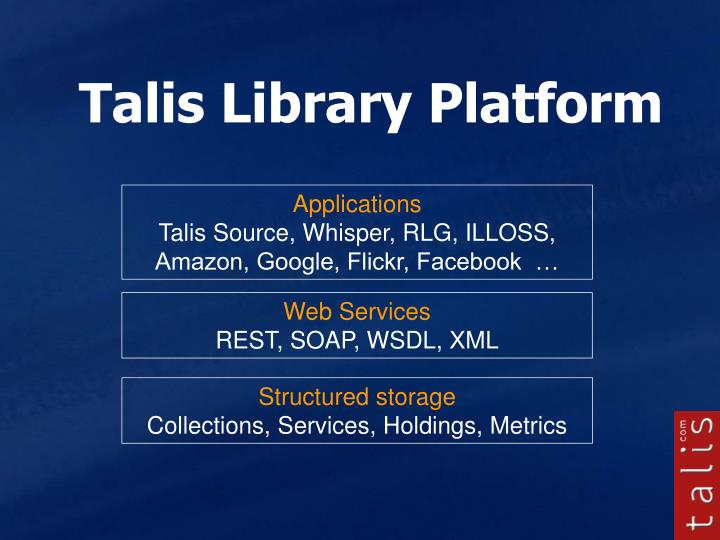 Talis Library Platform