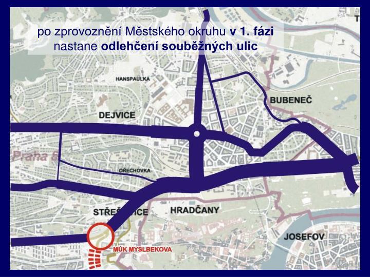 po zprovoznění Městského okruhu