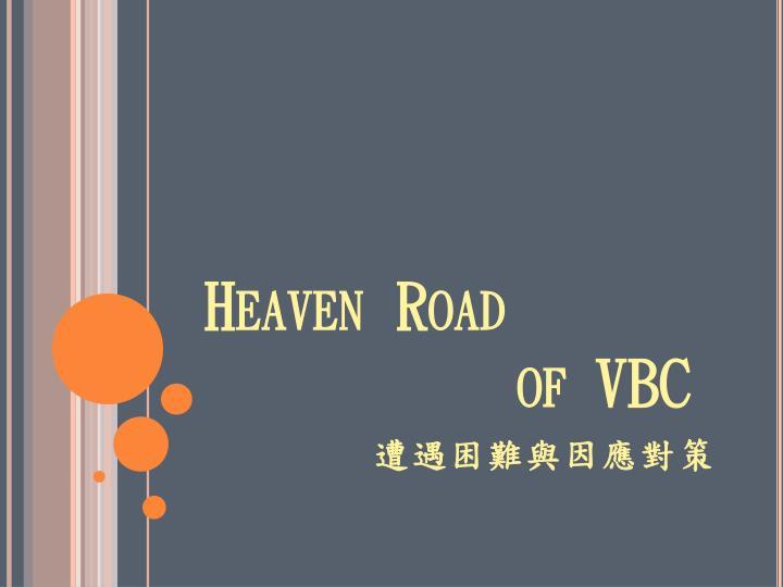 Heaven Road