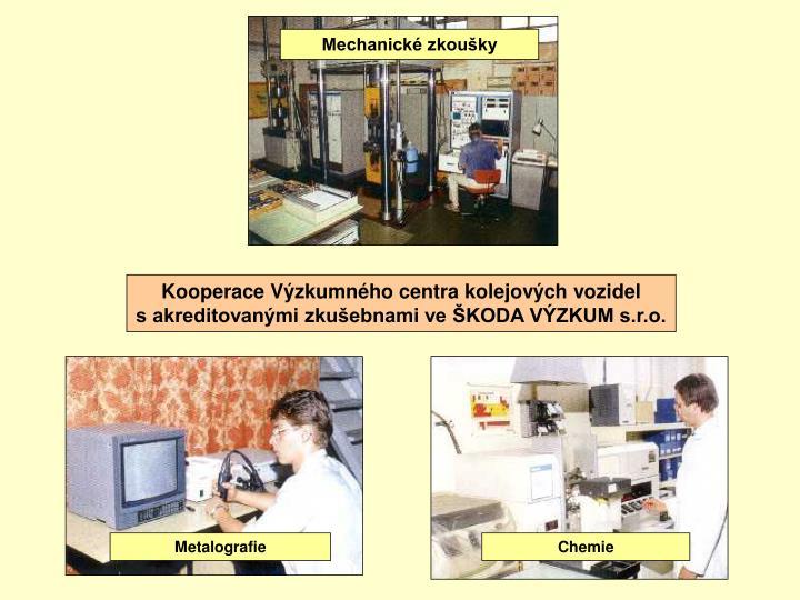 Mechanické zkoušky