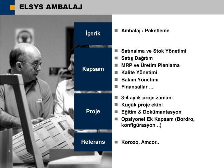 ELSYS AMBALAJ