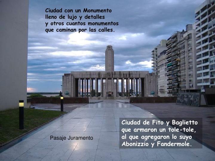 Ciudad con un Monumento