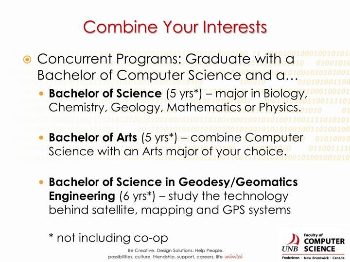 Combine Your Interests